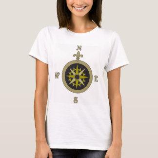 T-shirt de voyageur de boussole