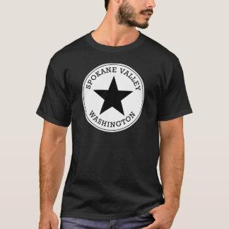 T-shirt de Washington de vallée de Spokane