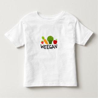 T-shirt de Weegan d'enfant en bas âge - lumière