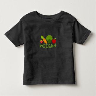 T-shirt de Weegan d'enfant en bas âge - obscurité