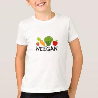 T-shirt de Weegan d'enfants - lumière