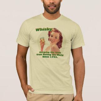 T-shirt de whiskey