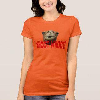 T-shirt de Whoot Whoot de chameau de journée en