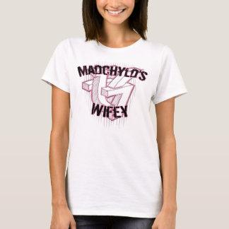 T-shirt de Wifey de graffiti de productions de