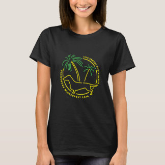 T-shirt de Winterfest de teckel de plage de 2016