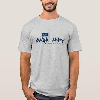 T-shirt de Wolff de marque d'équipe