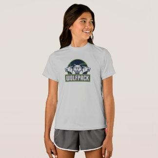 T-shirt de WolfPack de concurrent du Sport-Tek des