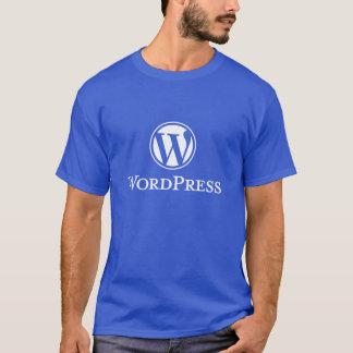 T-shirt de Wordpress (bleu)