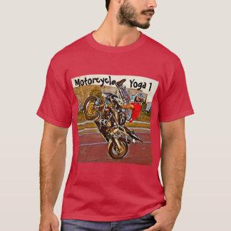 T-shirt de yoga de moto