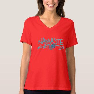 T-shirt de yoga de Namaste pour des femmes