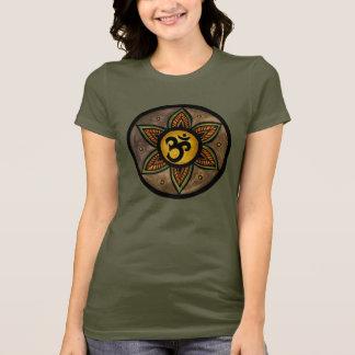 T-shirt de yoga d'ohm