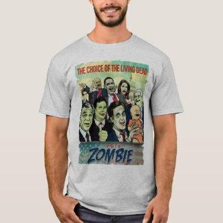 T-shirt de zombi de vote