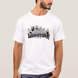 T-shirt de zombis d'ImprovCity