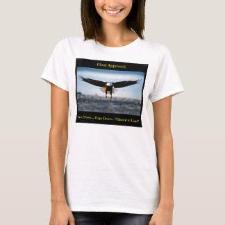 """T-shirt d'Eagle chauve """"d'approche finale"""""""
