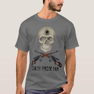 T-shirt death from far