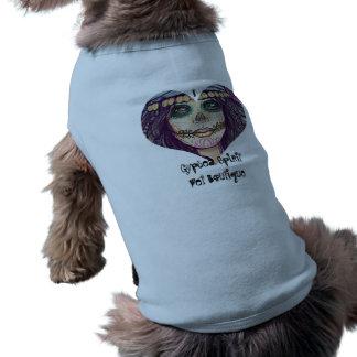 T-shirt Débardeur à nervures de chien