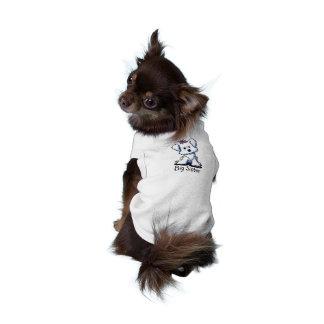 T-shirt Débardeur maltais d'animal familier de GRANDE SOEU