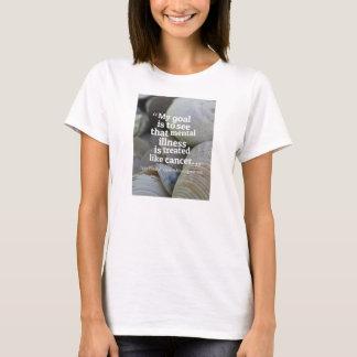 T-shirt Débarrassez le stigmate vers la maladie mentale