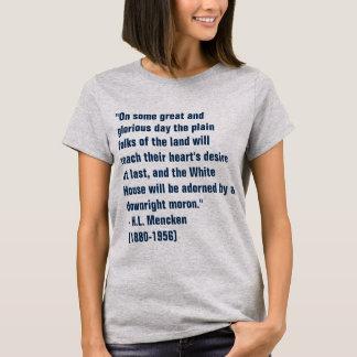 T-shirt Débile de la Maison Blanche
