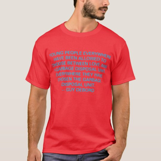 T-shirt debord de type