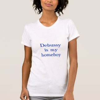 T-shirt Debussy est mon homeboy