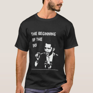 T-shirt Début de l'extrémité - Obama