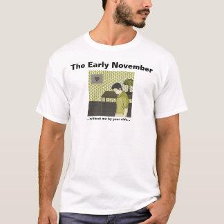 T-shirt début novembre