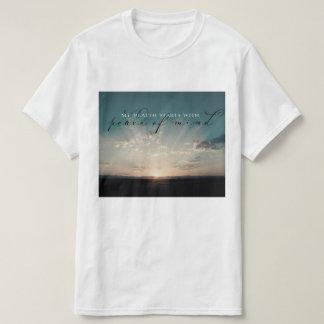 T-shirt Débuts avec la paix de l'esprit