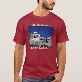T-shirt d'écart-type de Mt Rushmore