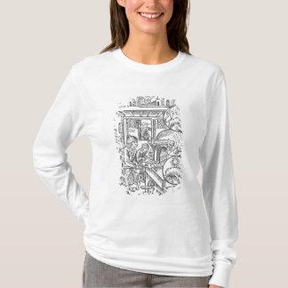 """T-shirt Décembre, du """"DES Bergers d'Almanach"""", 1491"""