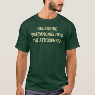 T-shirt Décharger Bearamones dans l'atmosphère