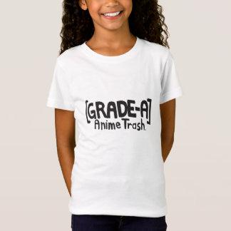 T-Shirt DÉCHETS D'ANIME DE GRADE-A