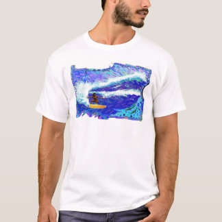 T-shirt Déchiquetage