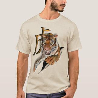 T-shirt Déchirure de la pièce en t de tigre