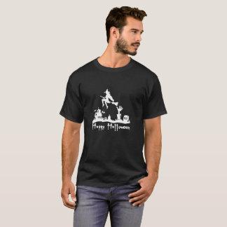 T-shirt Déchirure Haloween heureux