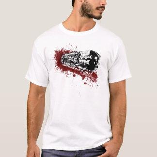 T-shirt d'éclaboussure de cuirassé