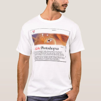 T-shirt d'éclaboussure de Photoshop 6,0