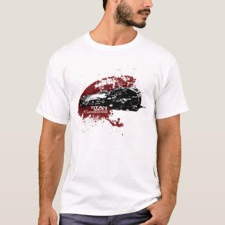 T-shirt d'éclaboussure de titan
