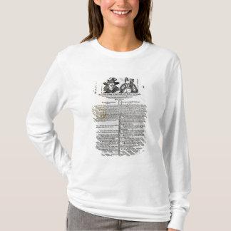 T-shirt Déclaration du mariage de Frederick V