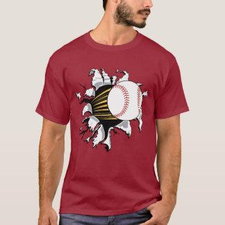 T-shirt d'éclateuse de base-ball