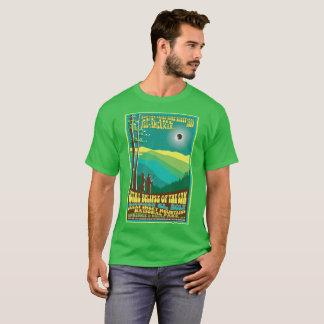 T-shirt d'éclipse solaire de Great Smoky Mountains
