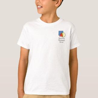 T-shirt d'école de Montessori de ville de