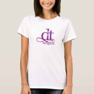 T-shirt Décollement absolu Fangirl (POURPRE)