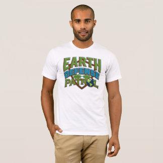 T-shirt d'écologiste de patrouille de la défense