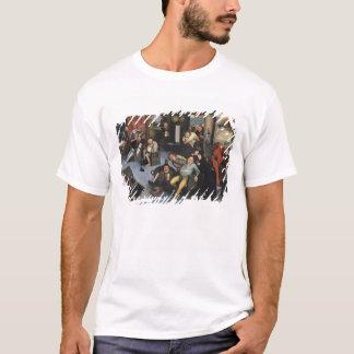 T-shirt Découpage de la pierre de la folie