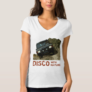 T-SHIRT DÉCOUVERTE - DISCO AVEC LA NATURE