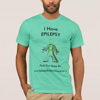 T-shirt Découvrez au sujet de l'épilepsie