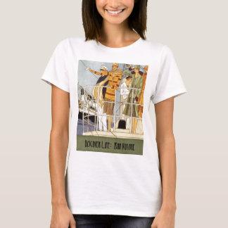 T-shirt Découvrez la vie :  Voyage de fève