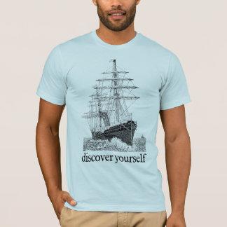 T-shirt Découvrez-vous chemise