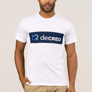 T-shirt decred tee-shirt